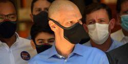 Presidente municipal do PSDB visita Covas e diz que é preciso respeitar o momento